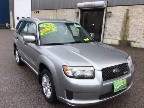 2008 Subaru Forester for sale at Adams Street Motor Company LLC in Dorchester MA