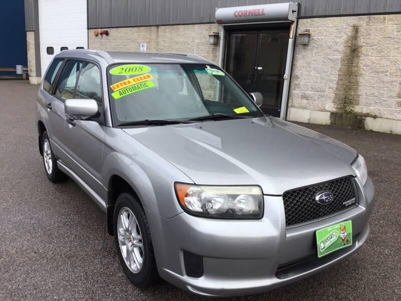 2008 Subaru Forester for sale at Adams Street Motor Company LLC in Boston MA