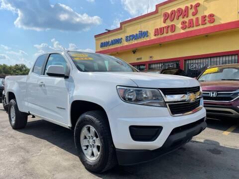 2017 Chevrolet Colorado for sale at Popas Auto Sales in Detroit MI