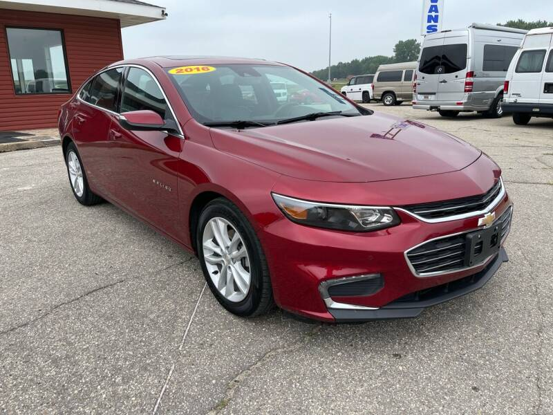 2017 Chevrolet Malibu for sale at Summit Auto & Cycle in Zumbrota MN