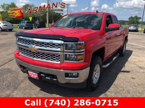 2015 Chevrolet Silverado 1500 for sale at Carmans Used Cars & Trucks in Jackson OH