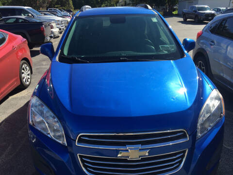2016 Chevrolet Trax for sale at Karlins Auto Sales LLC in Saratoga Springs NY