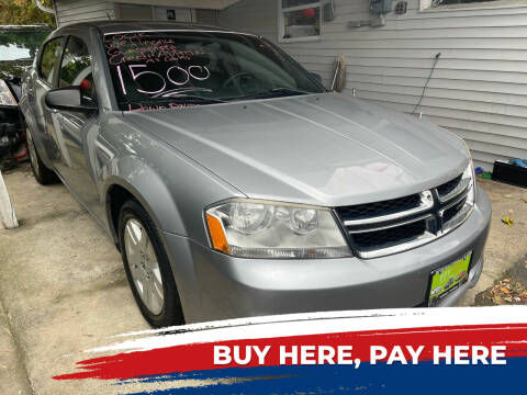 2014 Dodge Avenger for sale at BUY RITE AUTO MALL LLC in Garfield NJ