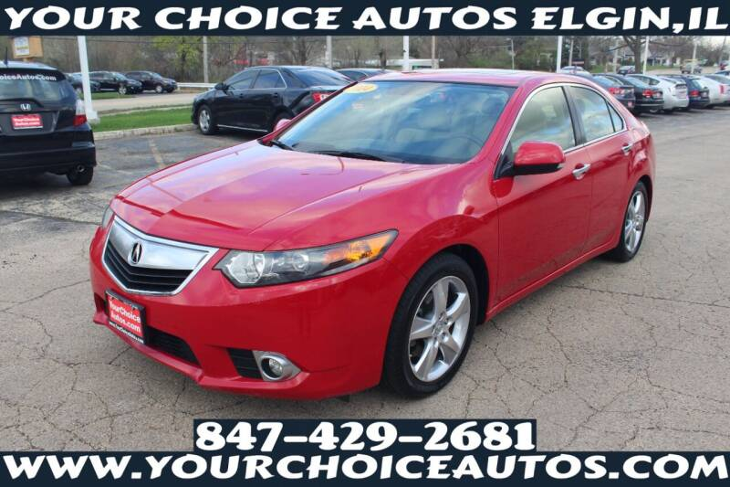 2014 Acura TSX for sale at Your Choice Autos - Elgin in Elgin IL