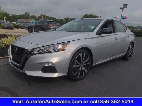 2021 Nissan Altima for sale at Autotec Auto Sales in Vineland NJ