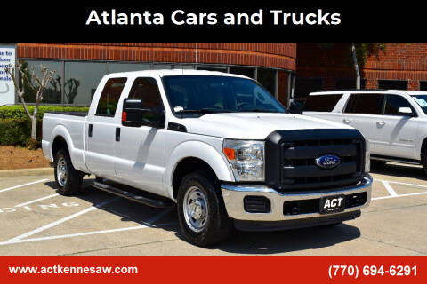 2013 Ford F-250 Super Duty for sale at Atlanta Cars and Trucks in Kennesaw GA
