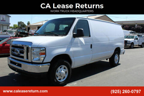 2013 Ford E-Series Cargo for sale at CA Lease Returns in Livermore CA