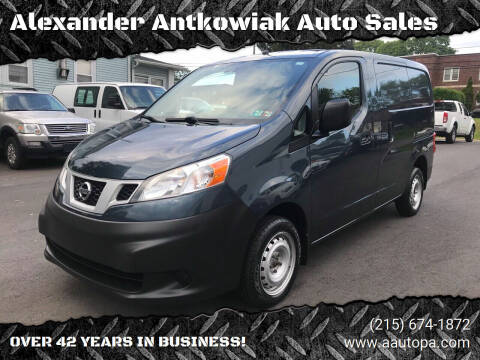 2015 Nissan NV200 for sale at Alexander Antkowiak Auto Sales in Hatboro PA