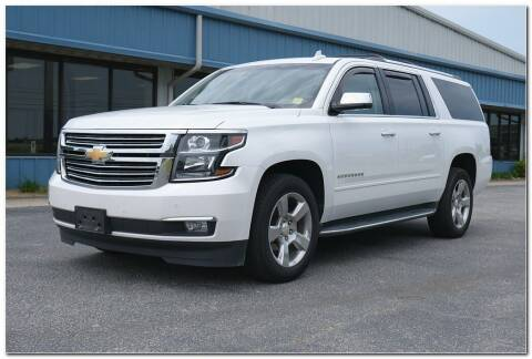 2018 Chevrolet Suburban for sale at STRICKLAND AUTO GROUP INC in Ahoskie NC