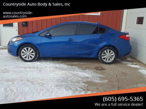 2014 Kia Forte for sale at Countryside Auto Body & Sales, Inc in Gary SD