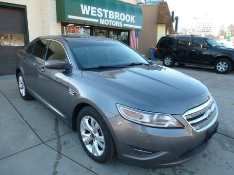 2012 Ford Taurus for sale at Westbrook Motors in Grand Rapids MI