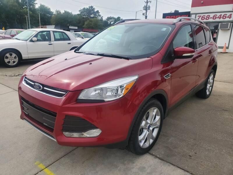 2015 Ford Escape for sale at Quallys Auto Sales in Olathe KS
