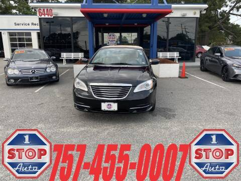 2014 Chrysler 200 Convertible for sale at 1 Stop Auto in Norfolk VA
