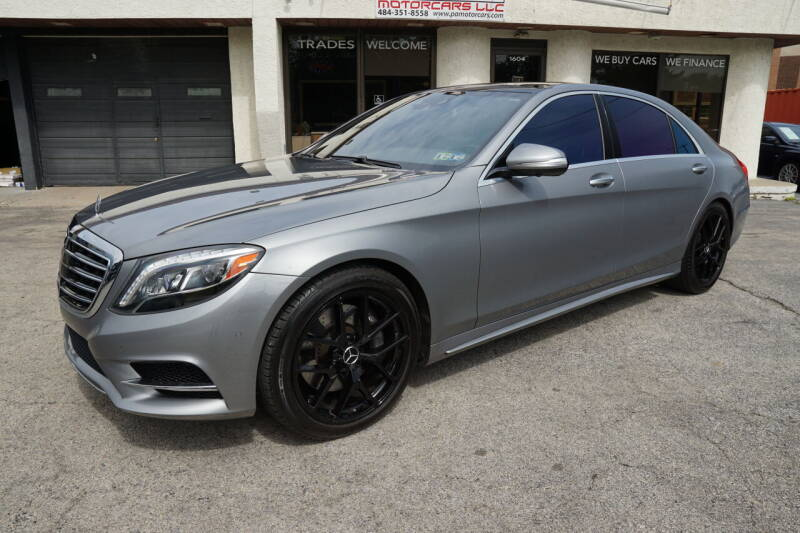 2015 Mercedes-Benz S-Class for sale at PA Motorcars in Conshohocken PA