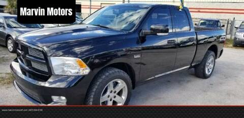 2012 RAM Ram Pickup 1500 for sale at Marvin Motors in Kissimmee FL