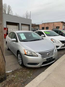 2013 Nissan Sentra for sale at Alpha Motors in Scranton PA