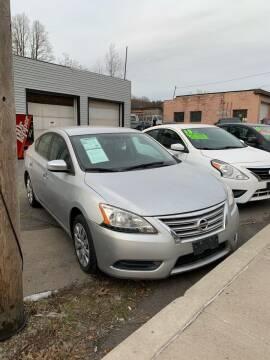 2015 Nissan Sentra for sale at Alpha Motors in Scranton PA