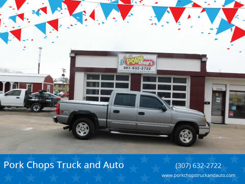 2006 Chevrolet Silverado 1500 for sale at Pork Chops Truck and Auto in Cheyenne WY