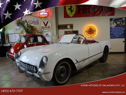 1954 Chevrolet Corvette for sale at Iconic Motors of Oklahoma City, LLC in Oklahoma City OK