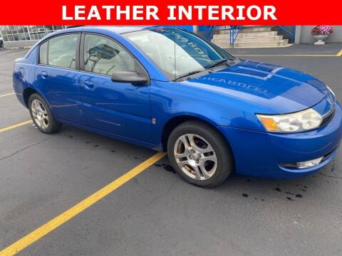 2004 Saturn Ion for sale at MATTHEWS HARGREAVES CHEVROLET in Royal Oak MI