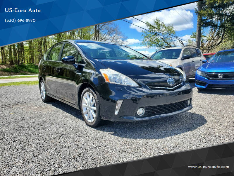 2013 Toyota Prius v for sale at US-Euro Auto in Burton OH