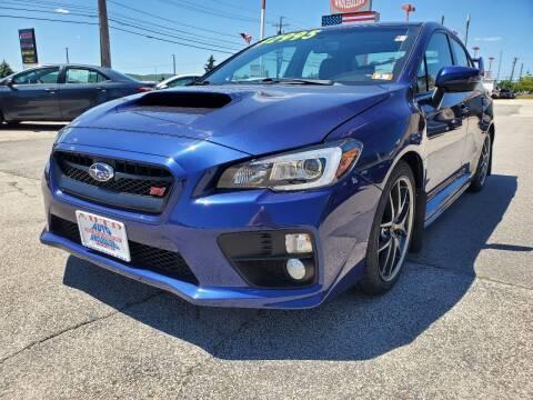 2016 Subaru WRX for sale at Auto Wholesalers Of Hooksett in Hooksett NH