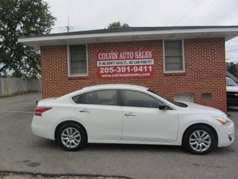 2015 Nissan Altima for sale at Colvin Auto Sales in Tuscaloosa AL