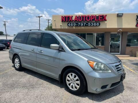 2008 Honda Odyssey for sale at NTX Autoplex in Garland TX