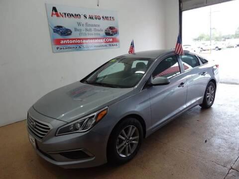 2016 Hyundai Sonata for sale at Antonio's Auto Sales - Antonio`s  2206 in Pasadena TX