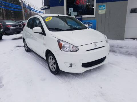 2014 Mitsubishi Mirage for sale at Bizzarro`s Fleetwing Auto Sales in Erie PA