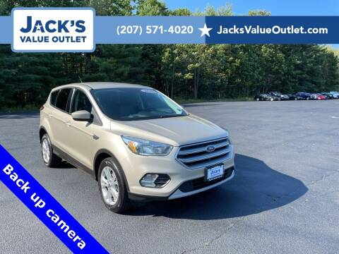 2017 Ford Escape for sale at Jack's Value Outlet in Saco ME