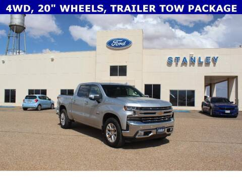 2019 Chevrolet Silverado 1500 for sale at STANLEY FORD ANDREWS in Andrews TX
