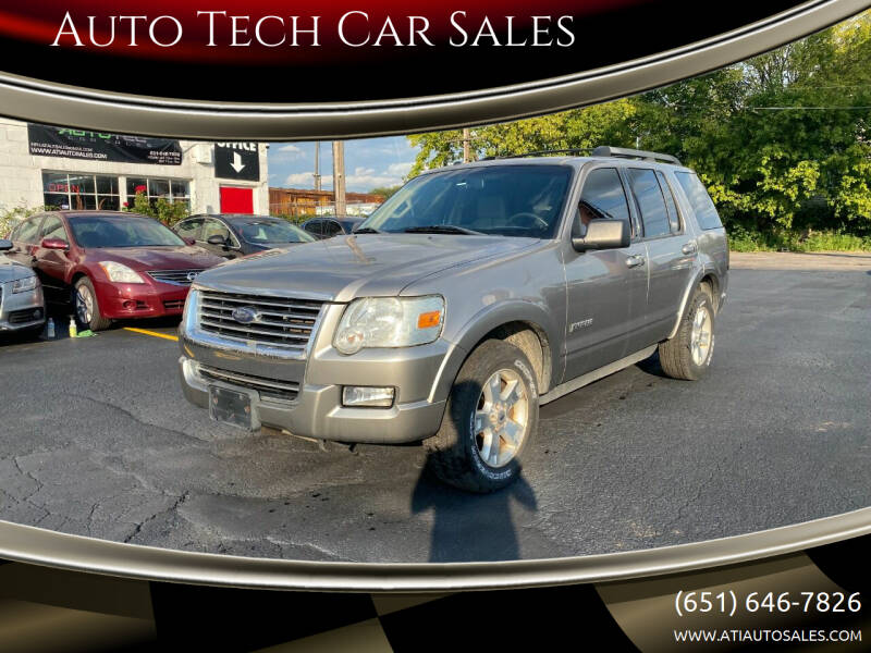 2008 Ford Explorer for sale at Auto Tech Car Sales in Saint Paul MN