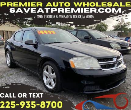 2013 Dodge Avenger for sale at Premier Auto Wholesale in Baton Rouge LA
