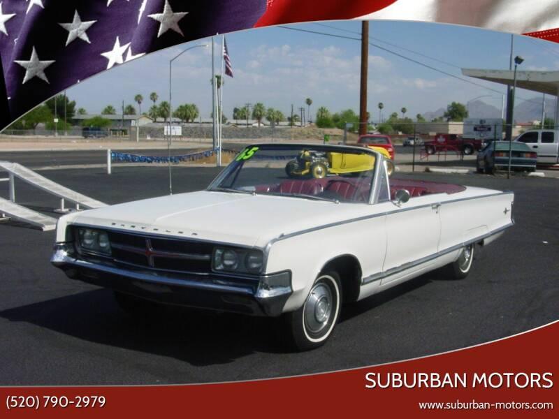 1965 Chrysler 300 for sale at Suburban Motors in Tucson AZ