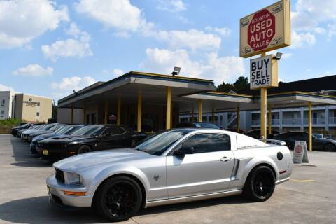 2009 Ford Mustang for sale at Houston Used Auto Sales in Houston TX