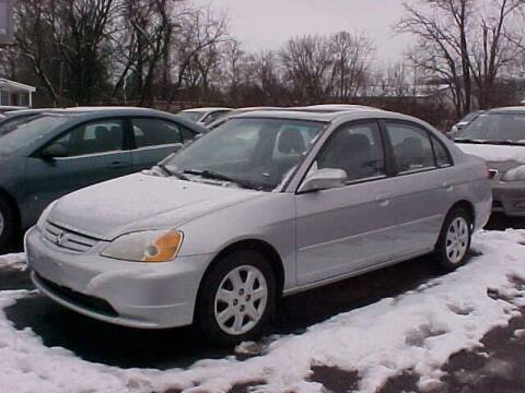 2003 Honda Civic for sale at Bates Auto & Truck Center in Zanesville OH