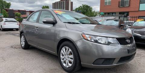 2010 Kia Forte for sale at Sanaa Auto Sales LLC in Denver CO