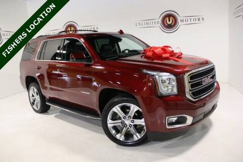 2016 GMC Yukon for sale at Unlimited Motors in Fishers IN