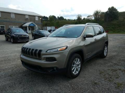 2017 Jeep Cherokee for sale at G & H Automotive in Mount Pleasant PA