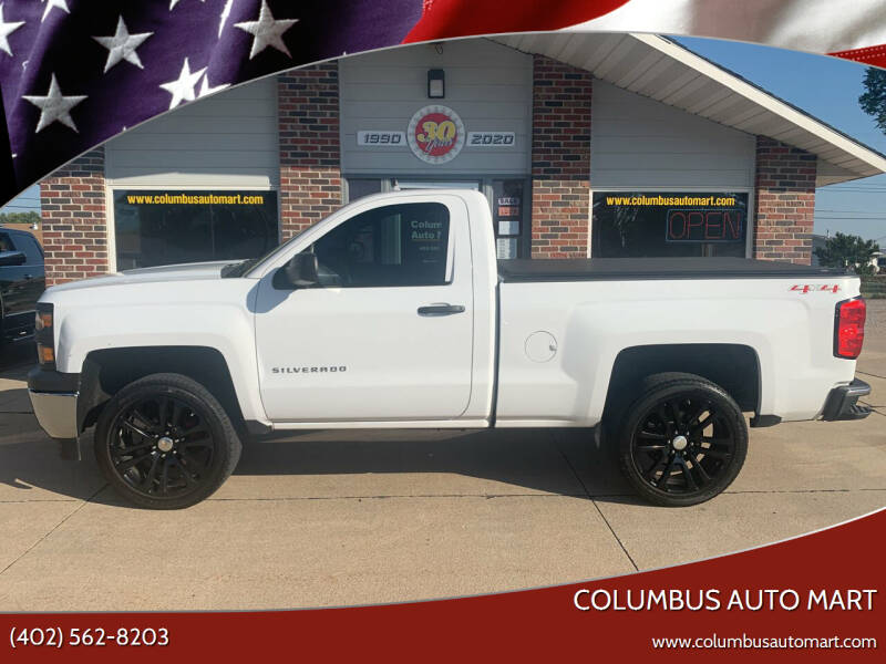 2014 Chevrolet Silverado 1500 for sale at Columbus Auto Mart in Columbus NE