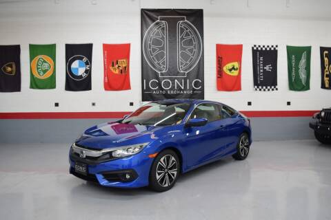 2016 Honda Civic for sale at Iconic Auto Exchange in Concord NC
