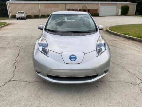 2012 Nissan LEAF for sale at Two Brothers Auto Sales in Loganville GA