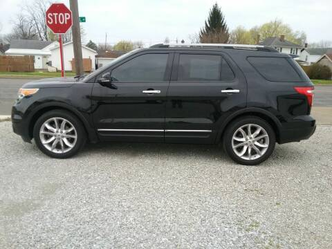 2012 Ford Explorer for sale at MIKE'S CYCLE & AUTO in Connersville IN
