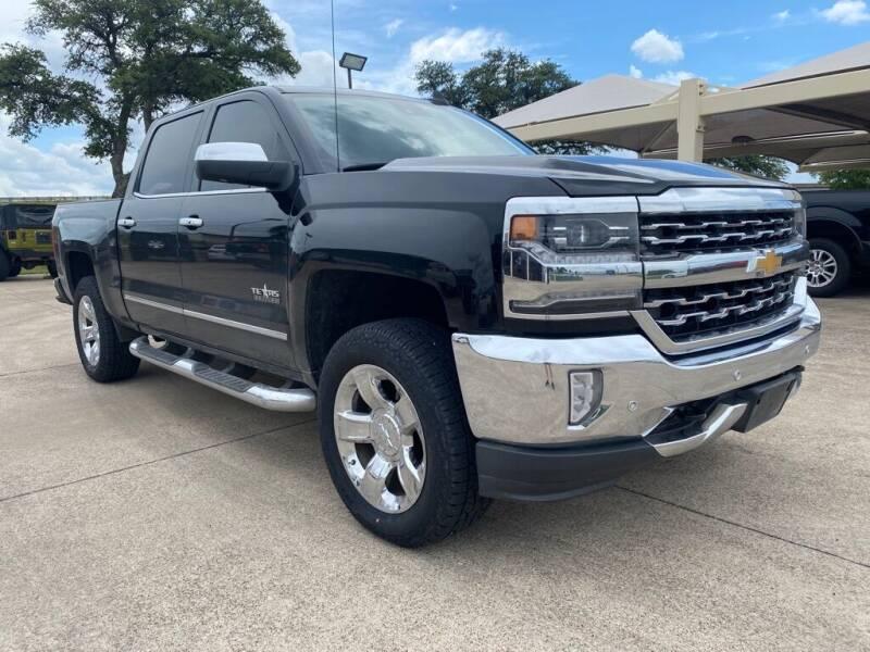 2016 Chevrolet Silverado 1500 for sale at Thornhill Motor Company in Hudson Oaks, TX