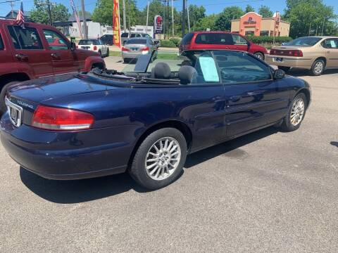2005 Chrysler Sebring for sale at NJ Quality Auto Sales LLC in Richmond IL