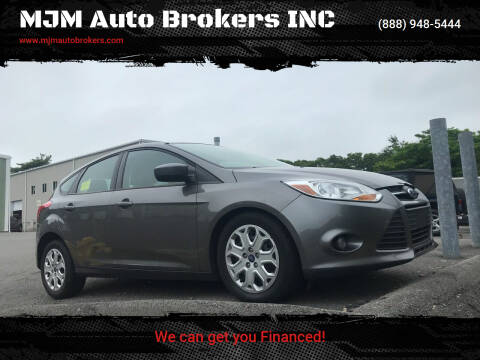 2012 Ford Focus for sale at MJM Auto Brokers INC in Gloucester MA