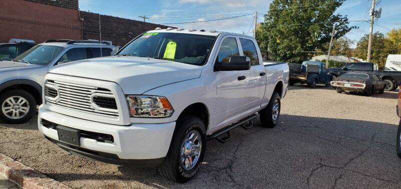 2018 RAM Ram Pickup 2500 for sale at Vossen Auto LLC in Blue Earth MN