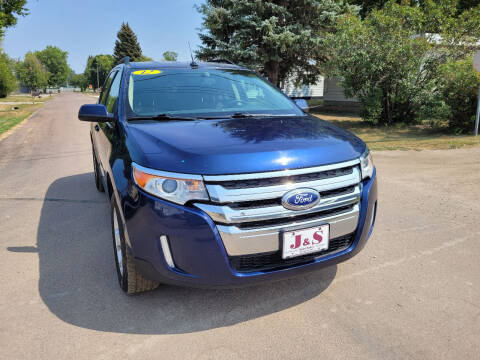 2012 Ford Edge for sale at J & S Auto Sales in Thompson ND