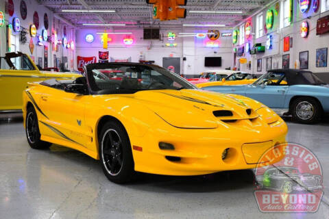 2002 Pontiac Firebird for sale at Classics and Beyond Auto Gallery in Wayne MI